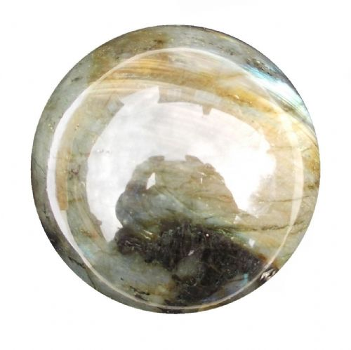 Labradorite Crystal Ball Scrying Divination Fortune Telling Sphere 56mm 250g LA5